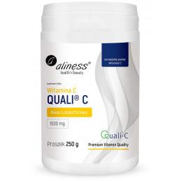 Witamina C Quali®-C (kwas L-askorbinowy) 250 g Aliness
