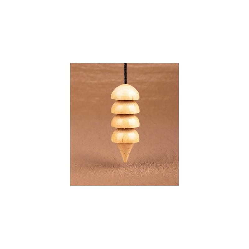 Wahadło Ozyrys buk - wysokość 17 cm