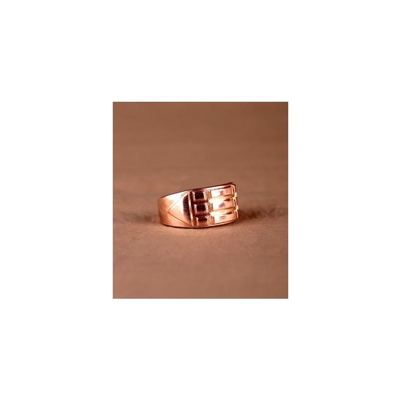Pierścień Atlantydzki miedziany - rozmiar 16