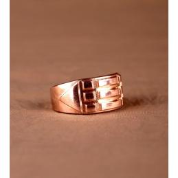 Pierścień Atlantydzki miedziany - rozmiar 17