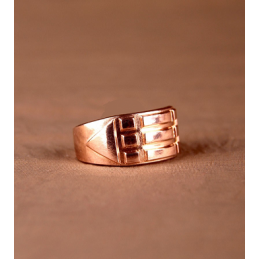 Pierścień Atlantydzki miedziany - rozmiar 28