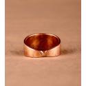 Pierścień Atlantydzki miedziany - rozmiar 34