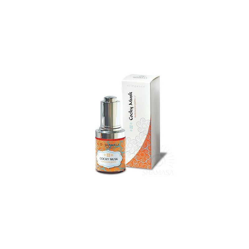 Buńczuczne Piżmo - olejek - naturalne perfumy 30 ml
