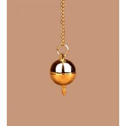 Wahadło Bola mosiądz złocony - 2,7 cm