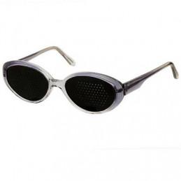 Okulary korekcyjne bezsoczewkowe (ajurwedyjskie) damskie + etui