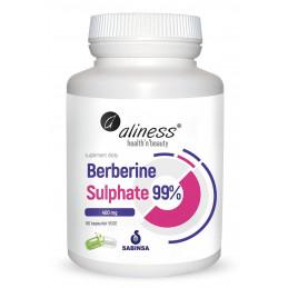 Berberine Sulphate 99% 400 mg (60 kapsułek VEGE) Aliness