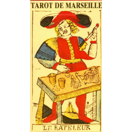 Tarot de MARSEILLE - karty tarot marsylski