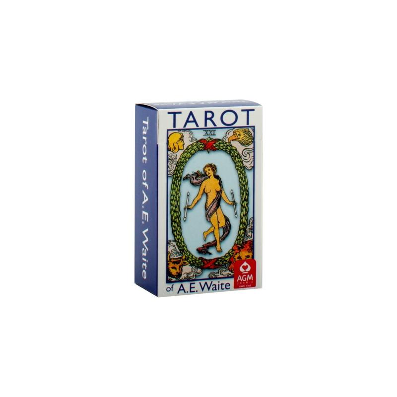 Tarot of A.E.Waite (Mini Blue Edition)