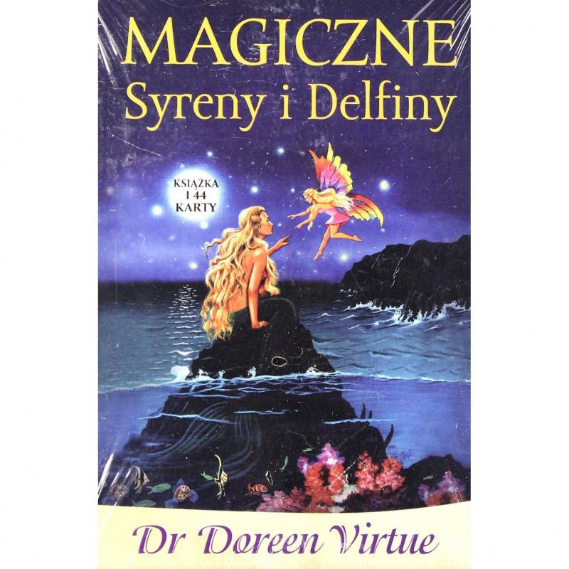 MAGICZNE Syreny i Delfiny (Książeczka i 44 karty)