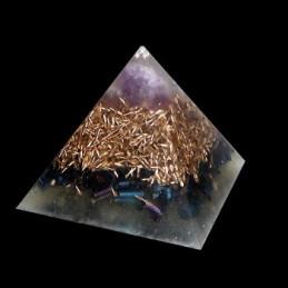 Piramida orgonitowa - ametyst