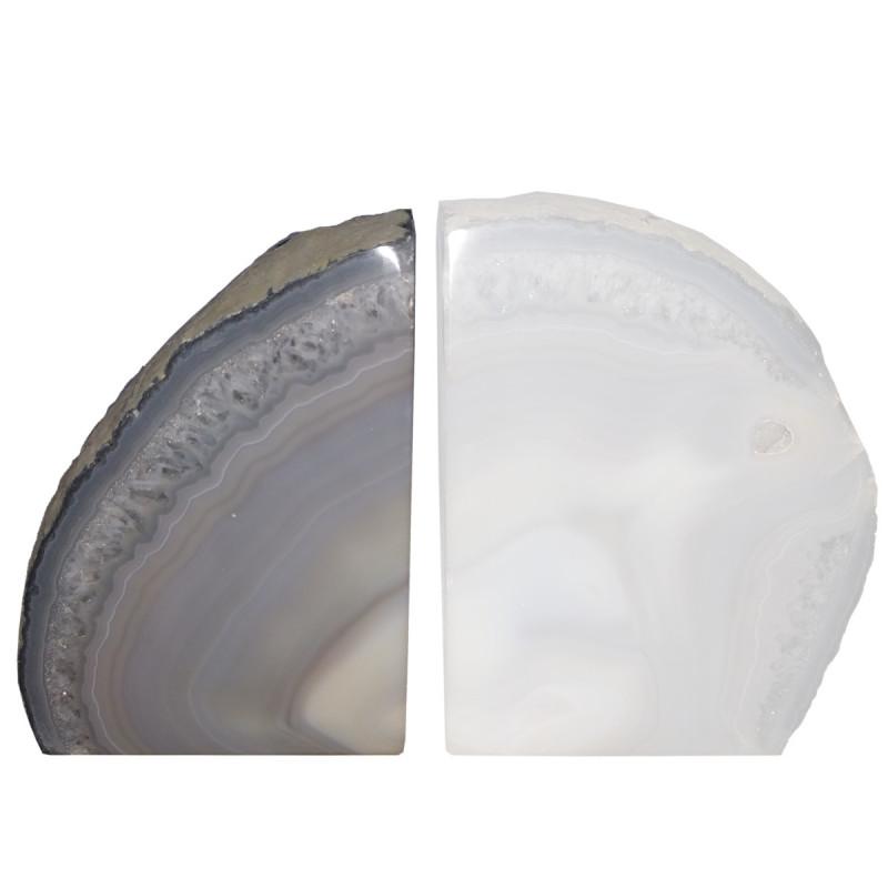 Agat naturalny jakość A - zgład stojący (wzór A) 1,47 kg