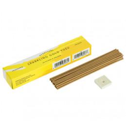 Naturalne kadzidełka japońskie SCENTSUAL - Złote Yuzu cytrusowe - Sparkling Gold Yuzu