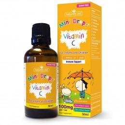 Witamina C w kroplach dla dzieci (50ml) Natures Aid