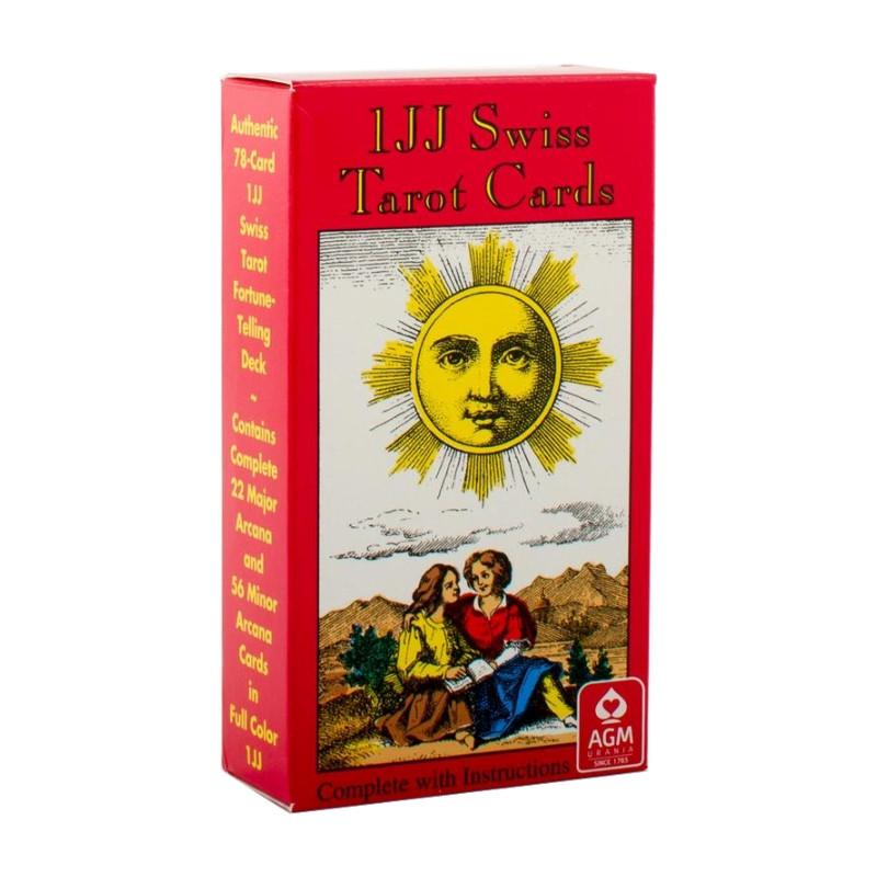 1JJ SWISS TAROT CARDS - karty tarota