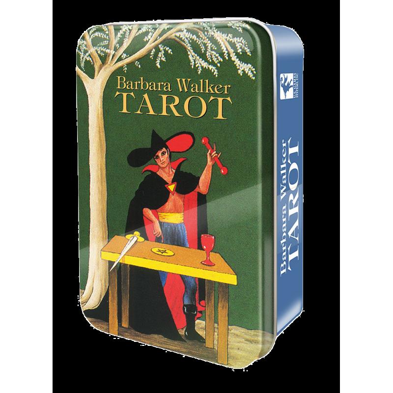 Barbara Walker TAROT - karty tarota w metalowej puszce