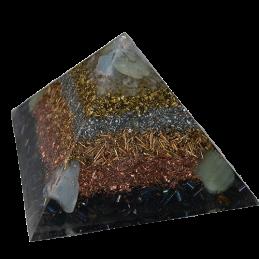 Piramida orgonitowa - Anioł Sprzęgło - 120 x 120 x 80 mm /4107/