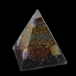 Piramida orgonitowa - Medytacja - 90 x 90 x 100 mm /24/