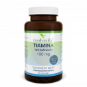 TIAMINA (witamina B1) 100 mg (60 kapsułek) Medverita (01.2022)