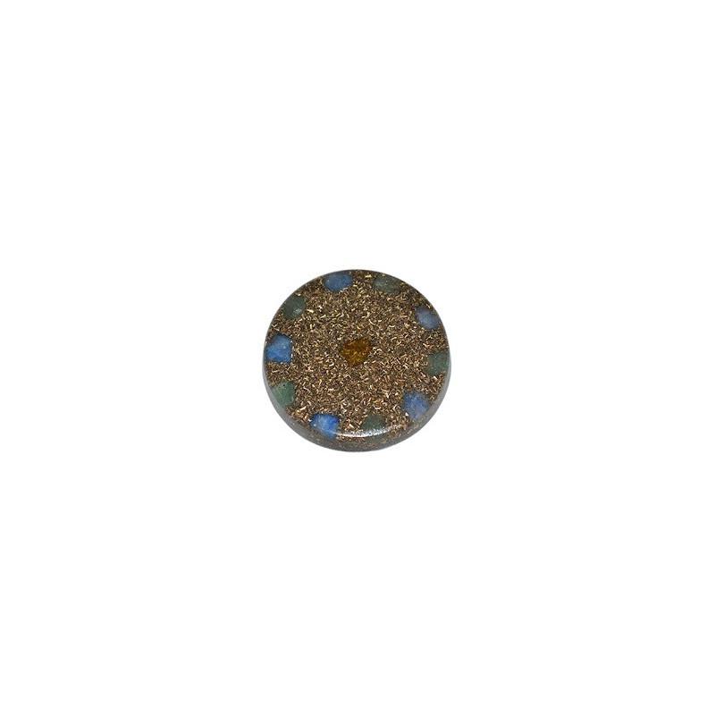 Amulet orgonitowy - Prosperita - 40 x 7 mm z rzemykiem /7127-03/