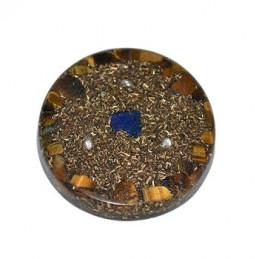 Amulet orgonitowy - Mądrość / jasny umysł - 40 x 7 mm z rzemykiem /7124-03/