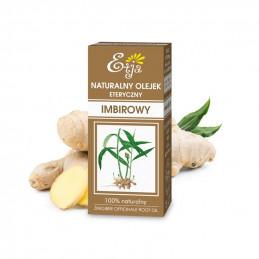 Olejek imbirowy naturalny, eteryczny (10 ml) Etja (04.2022)
