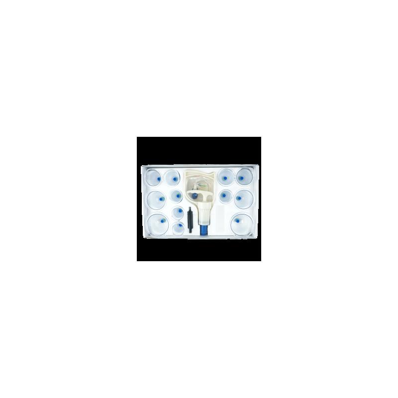 Bańki próżniowe z pompką komplet 12 szt