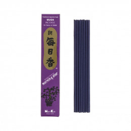 Japońskie kadzidełka MS MUSK - Zmysłowy zapach piżma