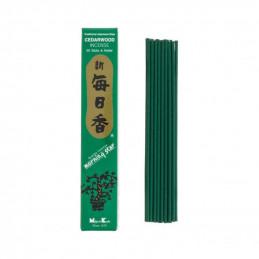 Japońskie kadzidełka MS CEDARWOOD - Uspokajający zapach cedru