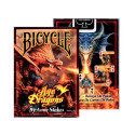 Bicycle: Age of Dragons by Anne Stokes - karty do gry