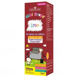 Natures Aid Mini Iron Żelazo dla dzieci 50 ml (05.2022)
