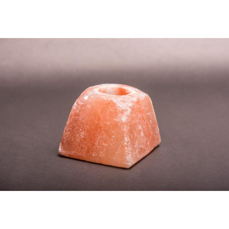 Świecznik solny w kształcie piramidy ZDROWIE NATURY