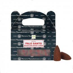 Kadzidła stożkowe Backflow PALO SANTO (z przepływem wstecznym)