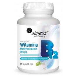 Witamina B12 Methylcobalamin 1000µg (100 kapsułek) Aliness