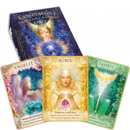 Kryształowe przesłania aniołów – 44 karty + książka