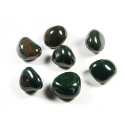 Heliotrop kamień bębnowany  1,5 x 1 cm - zestaw 2 szt