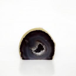 Agat szary - geoda stojąca (0,238 kg)