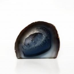 Agat szary - geoda stojąca (0,384 kg)