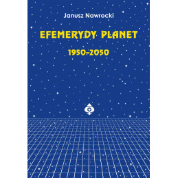 Efemerydy planet 1950 2050 Janusz Nawrocki 2020