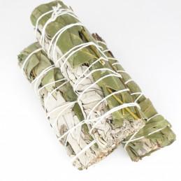 Biała szałwia z eukaliptusem (pęk 30-40 g) kadzidło oczyszczające (White Sage & Eucalyptus)