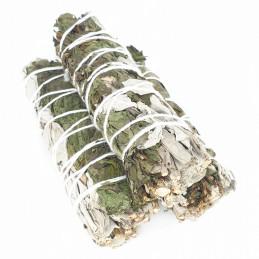 Biała szałwia z miętą pieprzową (pęk 20-30 g) kadzidło oczyszczające (White Sage & Peppermint)