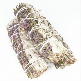Biała szałwia z lawendą (pęk 20-30 g) kadzidło oczyszczające (White Sage & Lavender)