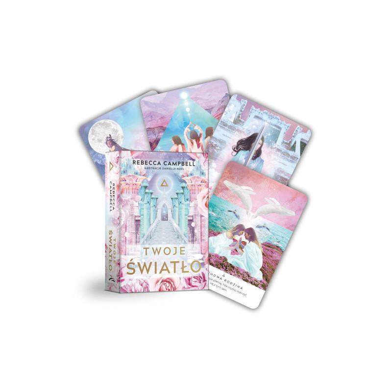 Wyrocznia TWOJE ŚWIATŁO (karty + książeczka)
