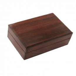 Pudełko na karty tarota drewniane