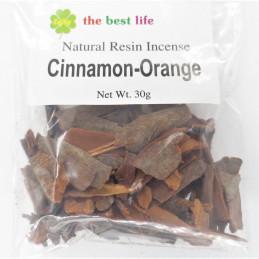 Kadzidło roślinne CINNAMON-ORANGE - cynamon i pomarańcza (30 g)