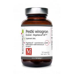 Mega Natural Ekstrakt z pestek winogron 60 kaps. KENAY AG