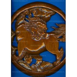 Śnieżny lew tybetański