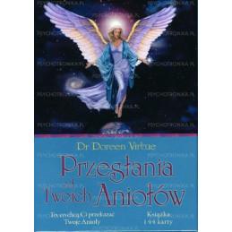 Przesłania od Twoich Aniołów książka + karty