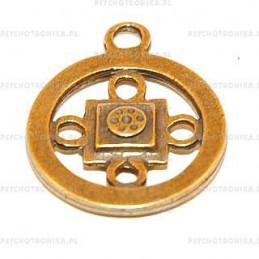 Amulet 38 Yantra shambala centrum energii świata
