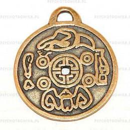 Amulet 2 moneta szczęścia